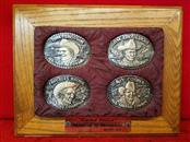 Rodeo Champion of Champions 4pc Belt Buckle Set - Limited Edition